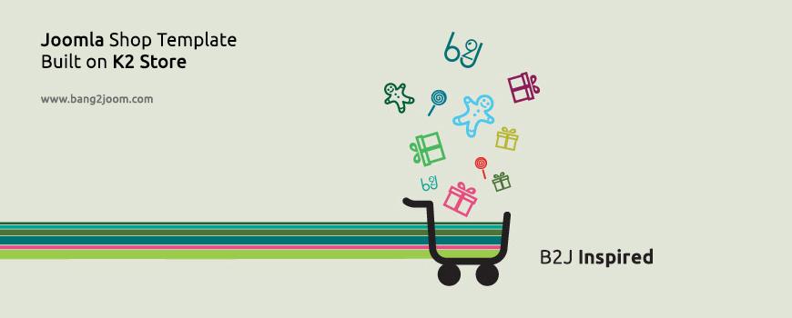 Brand New Joomla Shop Template B2j Inspired Has Arrived