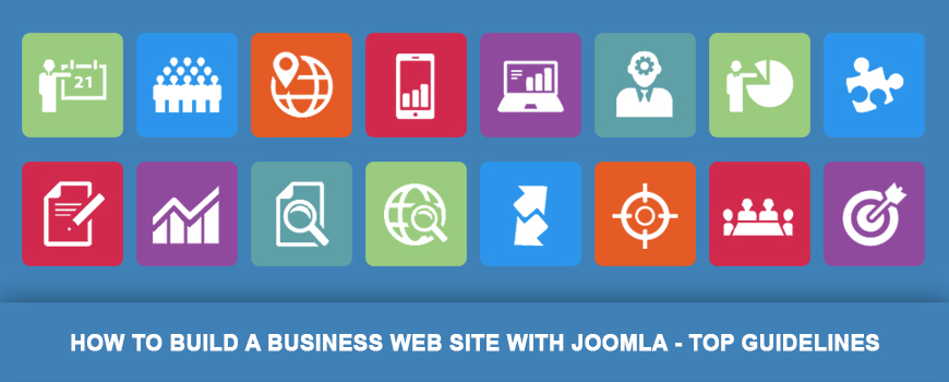 How to Build Business Website with Joomla