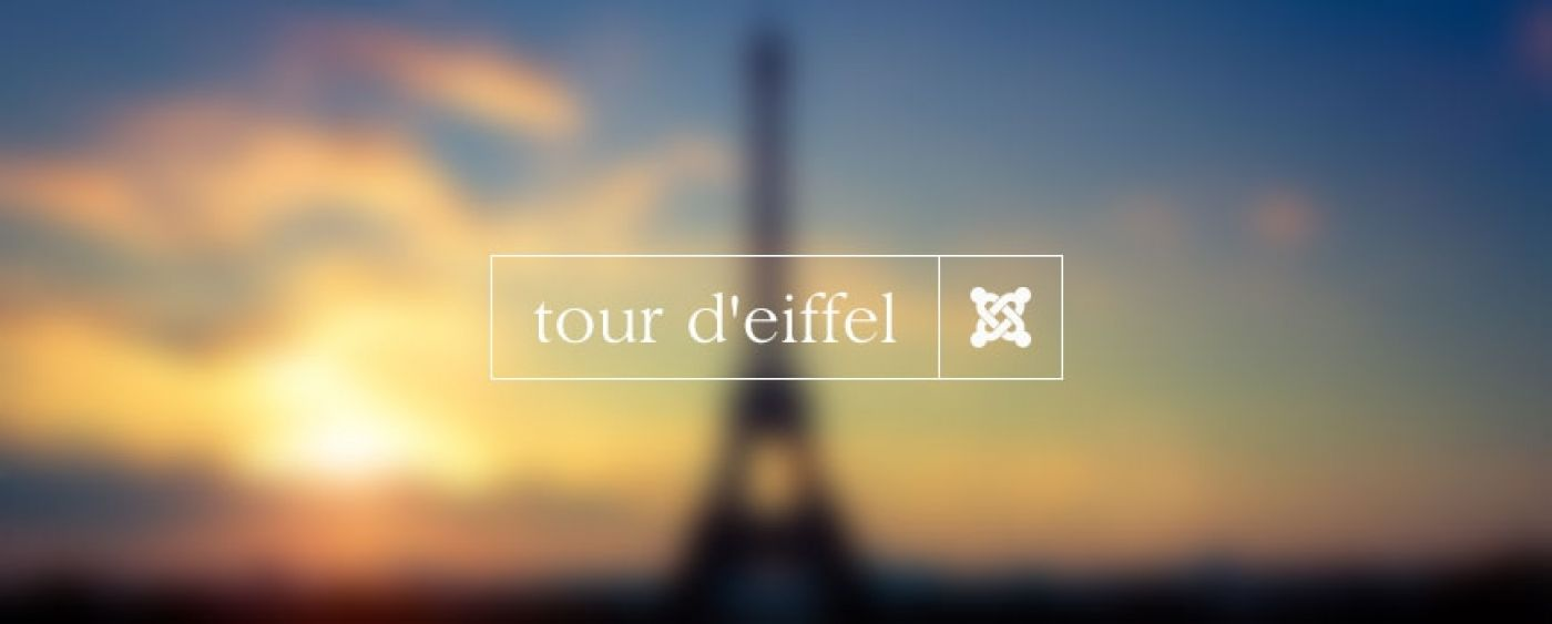 Bang2Joom blog: The Eiffel Tower website powered by Joomla!