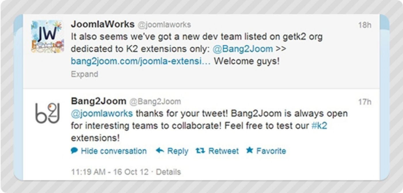 Bang2Joom Blog: Our Joomla! K2 Extensions are already on getk2.org!