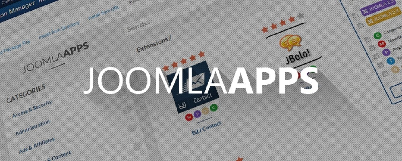 B2J helps to build Joomla Apps