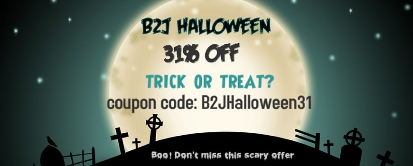 B2J Scary Halloween Offer