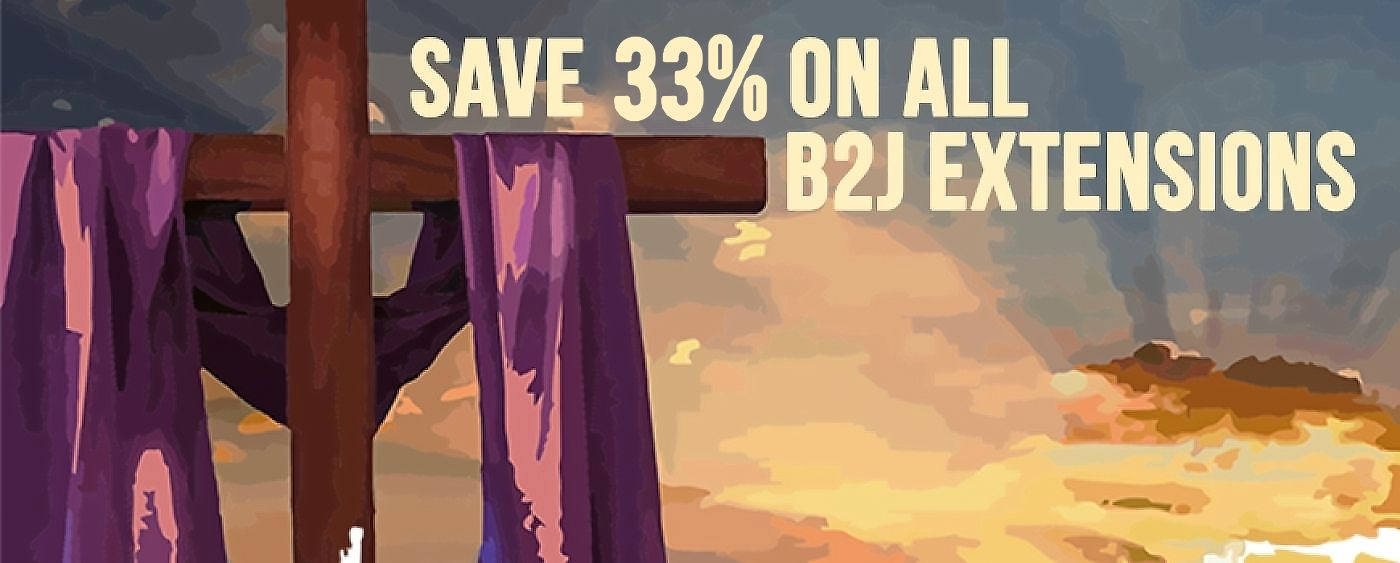 The B2J Easter Sale
